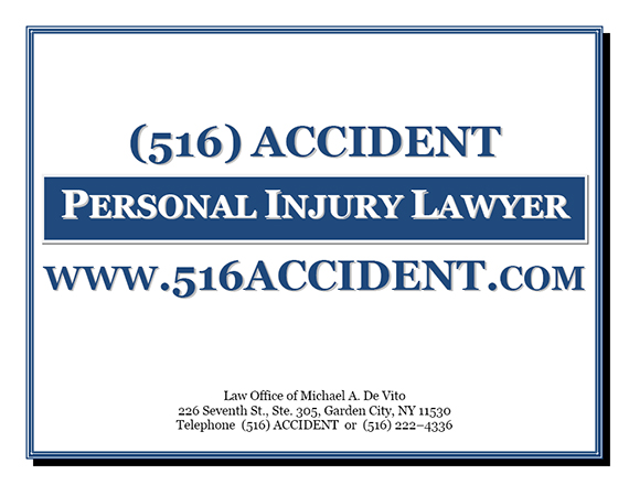 Law Office of Michael A. De Vito | Personal Injury Lawyer